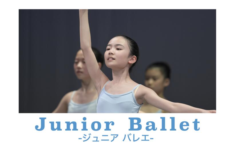Junior Ballet 新年度・生徒募集中!
